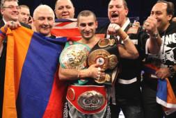 43-летний Вахтанг Дарчинян выйдет на ринг 19 июля