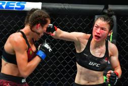 Вейли Жанг победила Йоанну Енджейчик  в зрелищном поединке