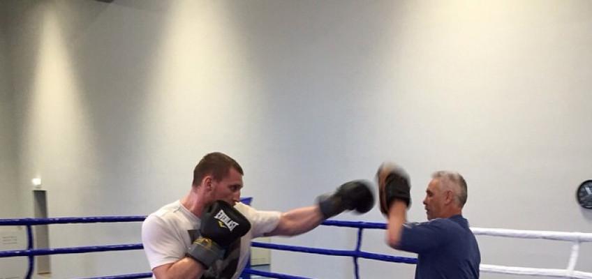 Кадр дня: Дмитрий Кудряшов готовится к бою 22 мая