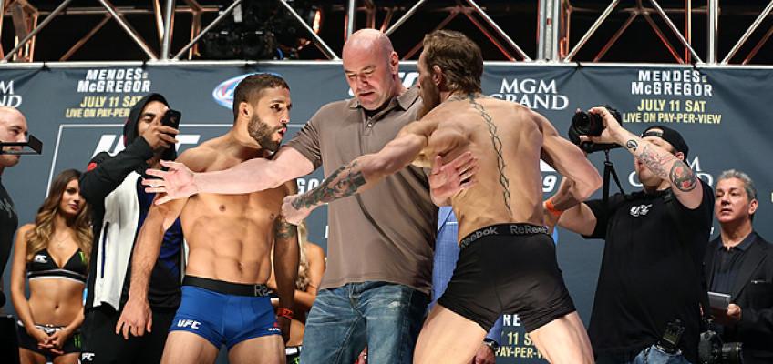 Взвешивание бойцов турнира UFC 189 (+ видео)