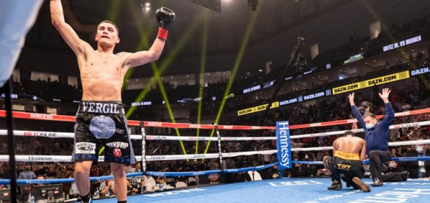 Верджил Ортис хочет боя за титул против Кроуфорда