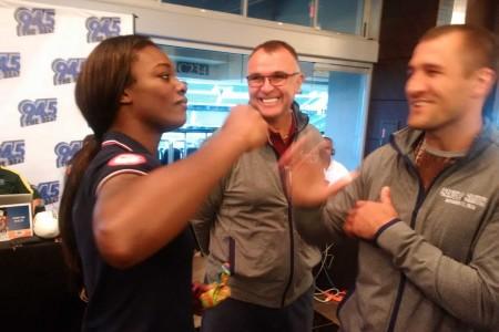 Олимпийская чемпионка Кларисса Шилдс дебютирует в PPV-шоу Ковалев-Уорд