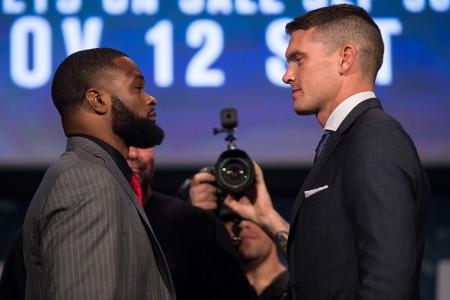 UFC 205: Тайрон Вудли— Стивен Томпсон. Результат иВИДЕО боя