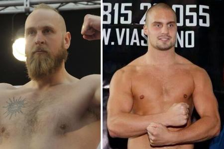 Спарринг-партнерами Кличко стали Роберт Хелениус и Адриан Гранат