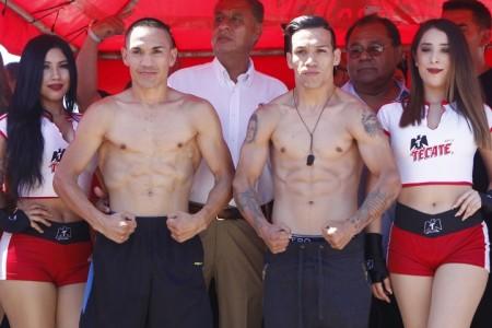 Хуан Эстрада и «Тайсон» Маркес прошли процедуру взвешивания