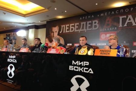 Слова Лебедева и Гассиева на пресс-конференции в Москве (+ видео)