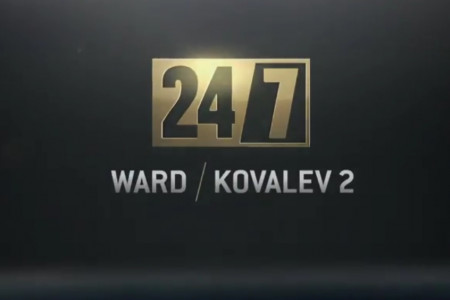 Бой Ковалев— Уорд впрямом эфире покажет канал «Хабар»